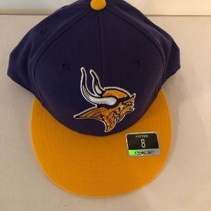 Minnesota Vikings Fitted Hat NWOT